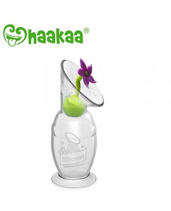Haakaa Silicone Flower Stopper - Lilac