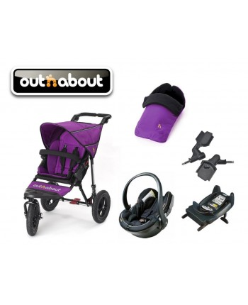 Out 'n About Single Nipper 360 Newborn Bundle